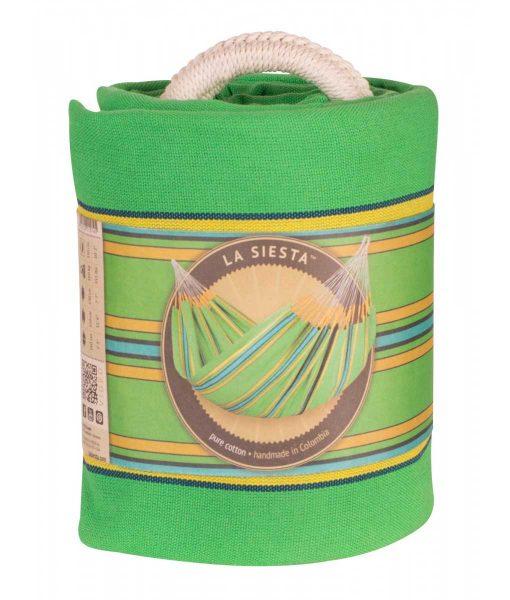 Хамак класически двоен Currambera зелен LA SIESTA 8