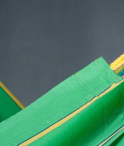 Хамак класически единичен Currambera зелен LA SIESTA 3