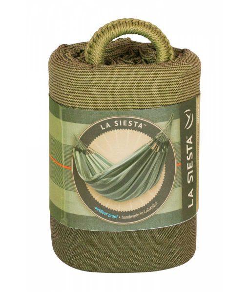 Хамак класически двоен Aventura зелен LA SIESTA 5