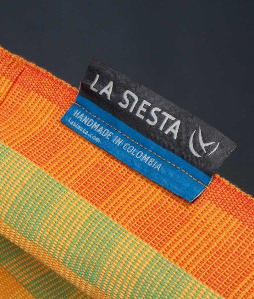 Хамак класически двоен Carolina жълт LA SIESTA 6