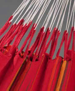 Хамак класически двоен Currambera червен LA SIESTA 3