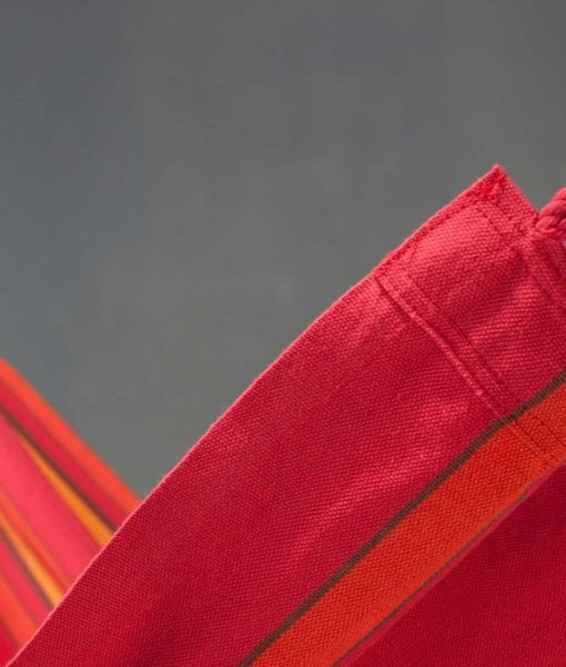 Хамак класически двоен Currambera червен LA SIESTA 4