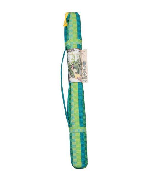 Хамак люлка единичен Carolina зелен LA SIESTA 7