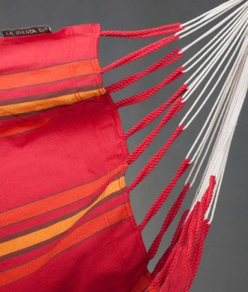 Хамак люлка единичен Currambera червен LA SIESTA 3