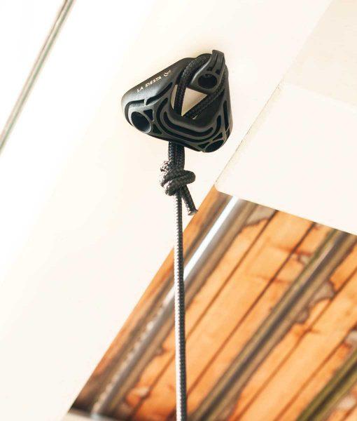Комплект за окачване на хамак люлка Home rope black LA SIESTA 5