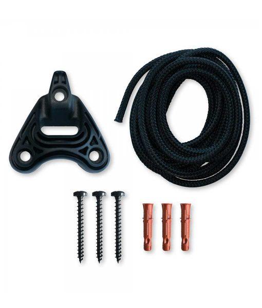 Комплект за окачване на хамак люлка Home rope black LA SIESTA