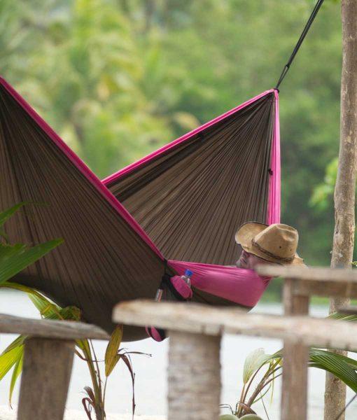 Хамак туристически двоен Colibri люляк LA SIESTA 5
