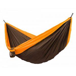 Хамак туристически двоен Colibri оранжев LA SIESTA