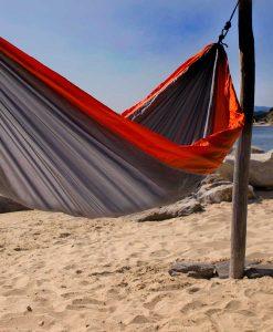 Хамак туристически единичен Breeze сив BREEZE 3