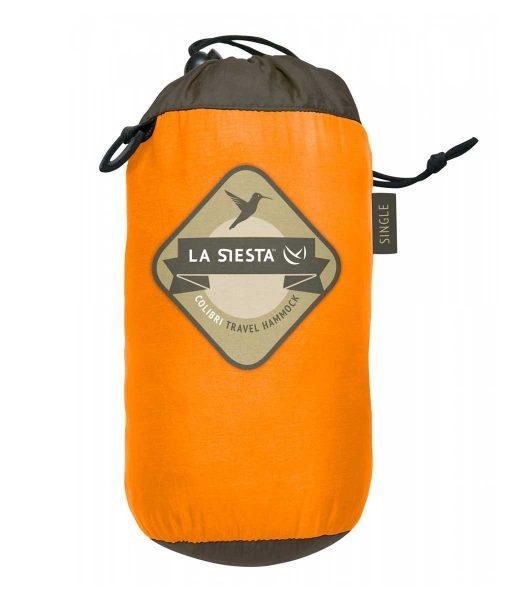 Хамак туристически единичен Colibri оранжев LA SIESTA 6