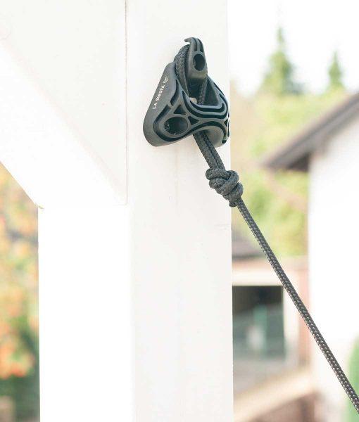 Комплект за окачване на хамак Home rope black LA SIESTA 2