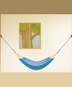 Комплект за окачване на хамак Home rope black LA SIESTA 4