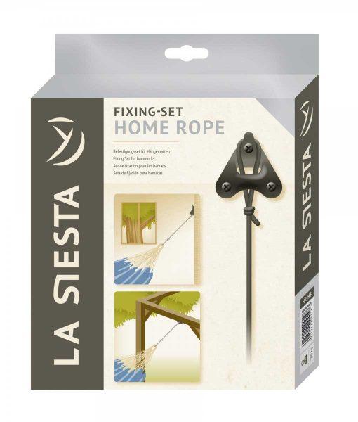 Комплект за окачване на хамак Home rope black LA SIESTA 5