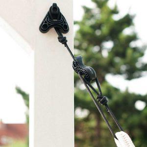 Комплект за окачване на хамак Universal rope black LA SIESTA 2