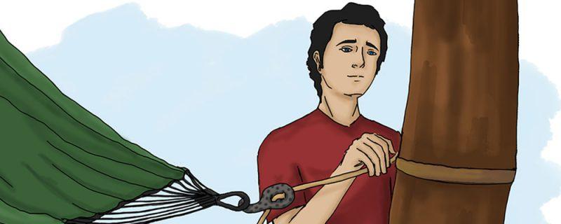 Как да разпънем хамак 4