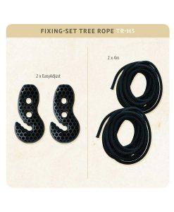 Въже за хамак Tree rope black LA SIESTA 3