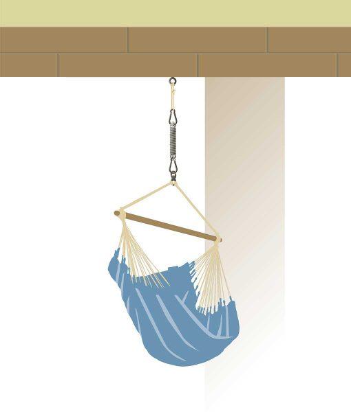 Въже за хамак люлка Seguro Confort LA SIESTA 4