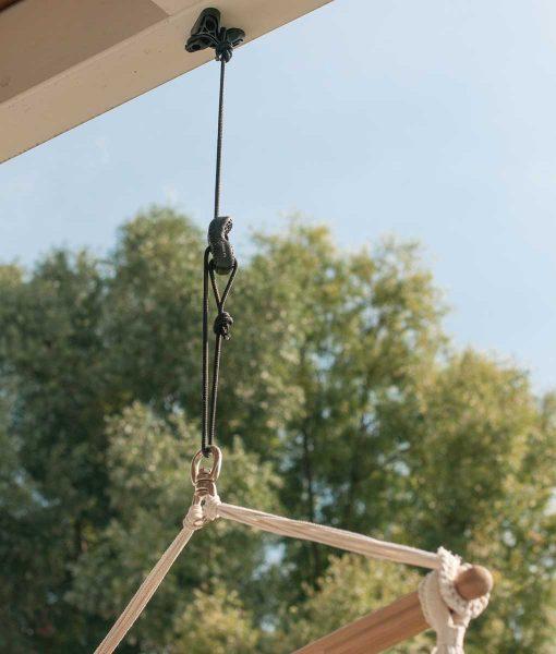 Въже за хамак люлка Universal rope black LA SIESTA 2