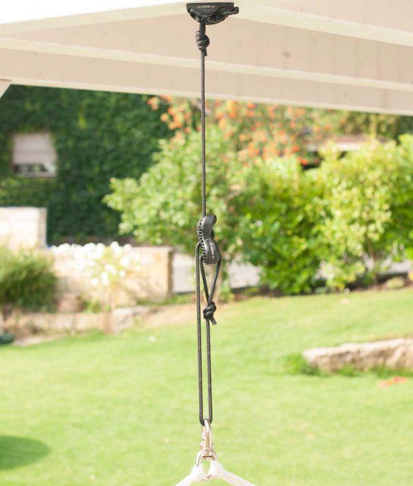 Въже за хамак люлка Universal rope black LA SIESTA 3