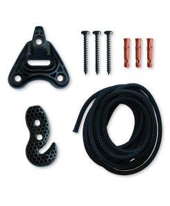 Въже за хамак люлка Universal rope black LA SIESTA