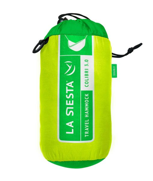 Хамак туристически двоен Colibri зелен 3.0 LA SIESTA 5