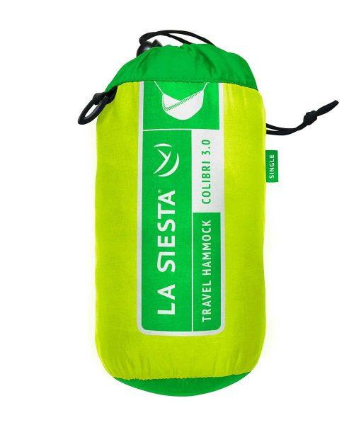 Хамак туристически единичен Colibri зелен 3.0 LA SIESTA 5