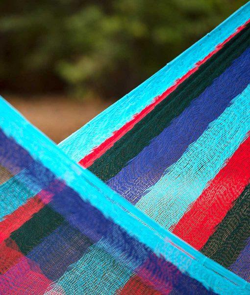 Мексикански плетен хамак двоен Marine Rada 3