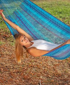 Мексикански плетен хамак двоен Ocean Rada