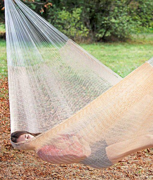 Мексикански плетен хамак двоен Pure Cotton Rada 2