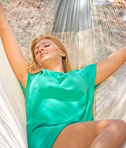 Мексикански плетен хамак двоен Pure Cotton Rada 3