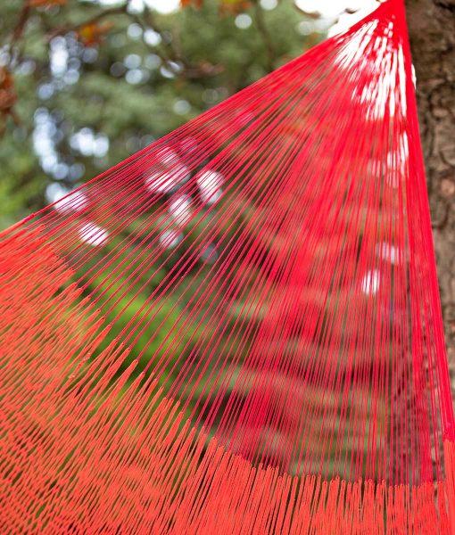 Мексикански плетен хамак единичен Sunset Rada 3