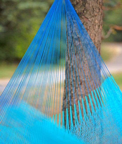 Мексикански плетен хамак единичен Azur Rada 3