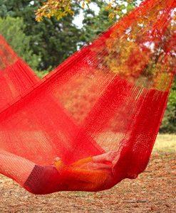 Мексикански плетен хамак единичен Sunset Rada