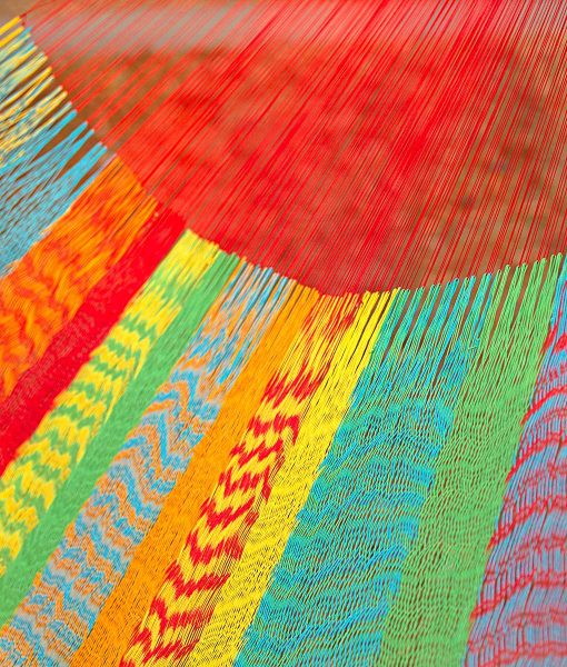 Мексикански плетен хамак kingsize Multicolor Rada 3