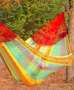 Мексикански плетен хамак kingsize Multicolor Rada